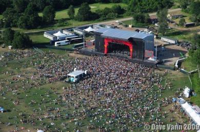 Rothbury Aerial View