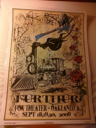 Furthur Official Poster