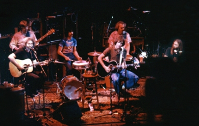The Dead acoustic in 1980