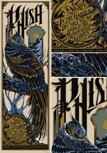 Poster by Ken Taylor © Phish 2010-2011