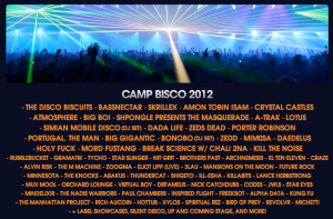 Camp Bisco Initial Lineup