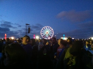 The Ferris Wheel and Crowd at AC